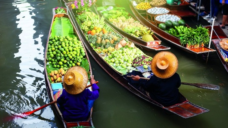 marches-flottants-thailandais