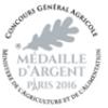 Médaille d'argent au concours général agricole