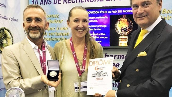 terre-diamant-medaille-d-argent-du-jury-a-exposition-internationale-des-inventions-de-geneve-2019