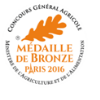 Médaille de bronze au concours général agricole