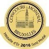 Bruxelles Concours mondial – Médaille d'Or