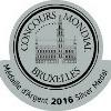 Concours mondial de Bruxelles : Médaille d'argent