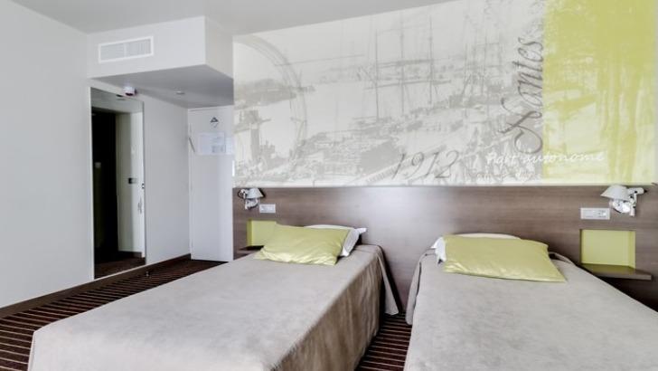 Hotel Amiral Chambre Twin Avec Salle De Bains