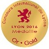 Médaille OR Concours International LYON