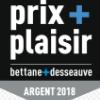 Médaille d'Argent Prix plaisir Bettane et Desseauve 2018