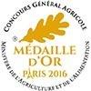 Concours Général Salon de l'agriculture Médaille d'Or
