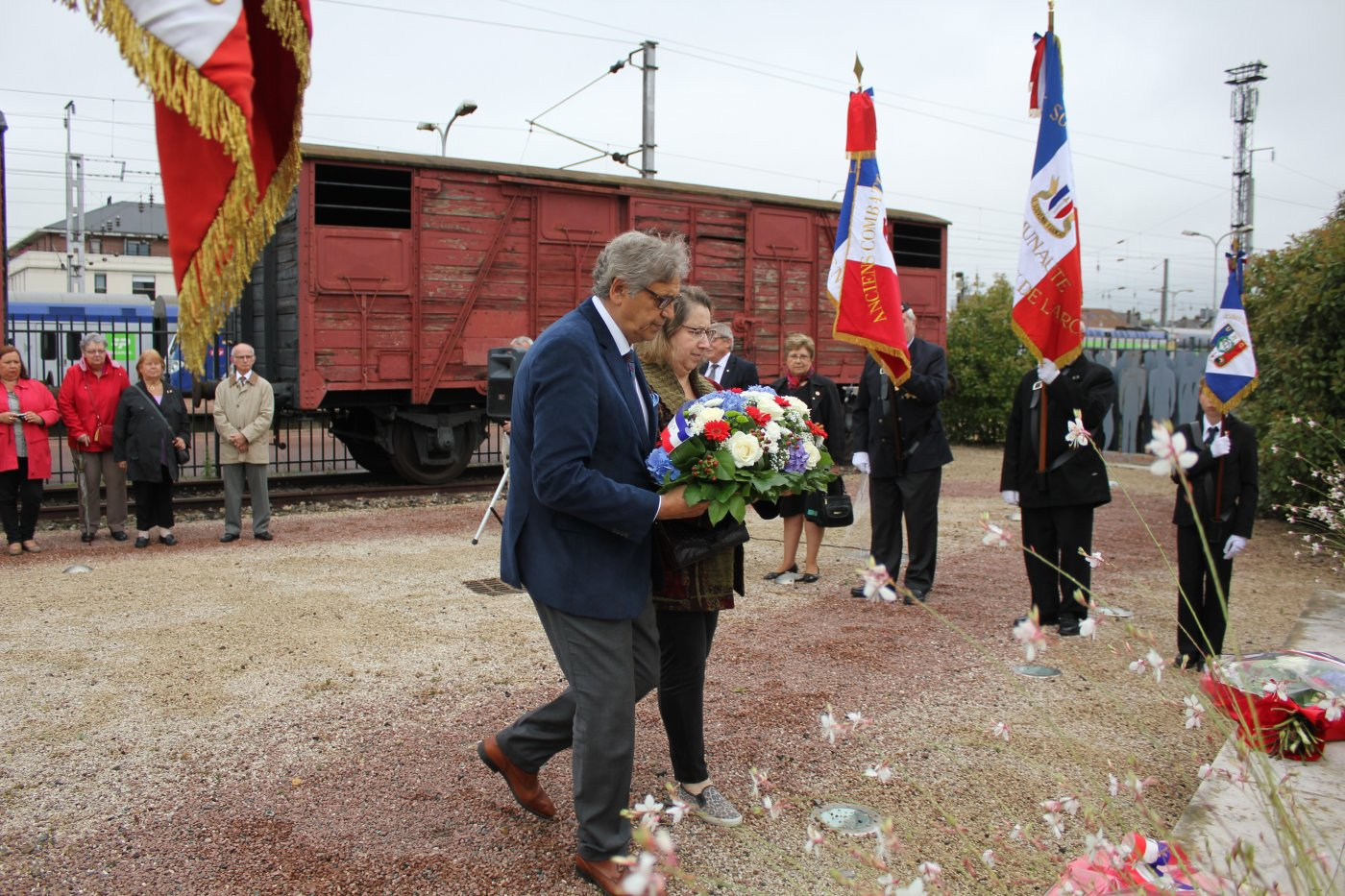 memorial-du-wagon-de-deportation-ceremonie-du-train-de-mort-2-juillet-2017