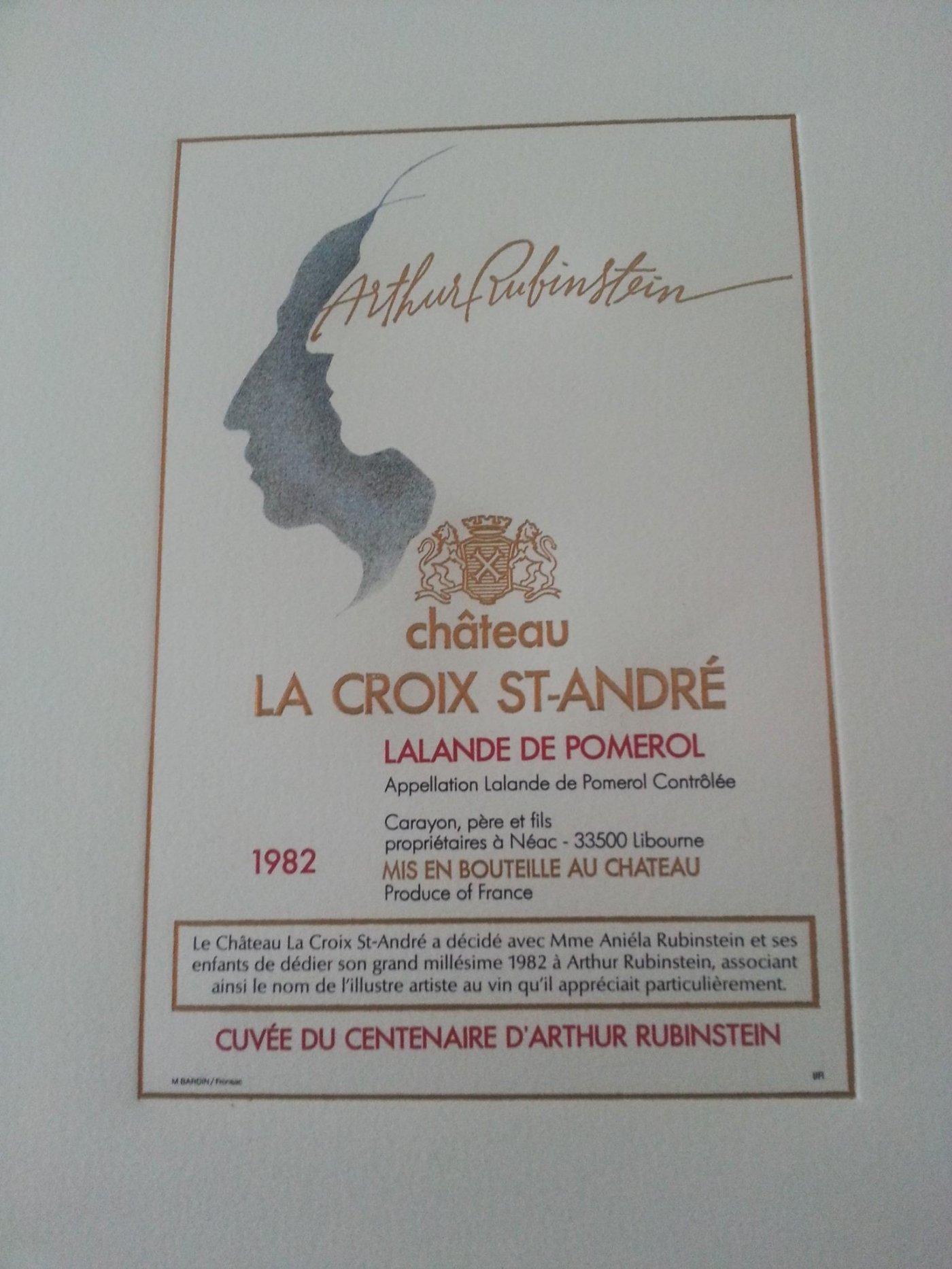 chateau-croix-saint-andre-millesime-1982-est-dedie-a-memoire-du-pianiste-arthur-rubinstein-classait-vin-parmi-ses-preferes