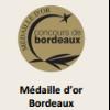 Médaille d'or Bordeaux