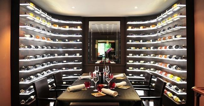 cave à vin Restaurant L'esprit de La Violette par Marc de Passorio à Aix-en-Provence