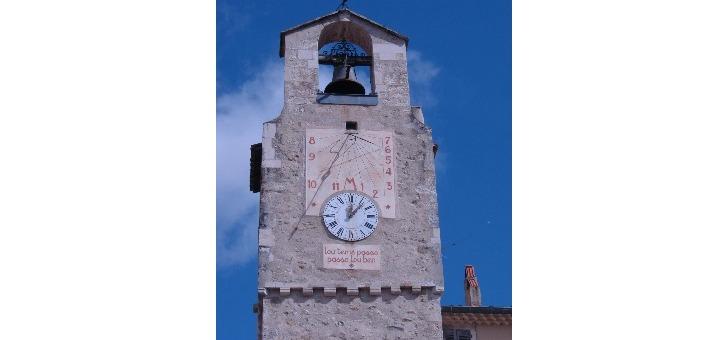 pays-de-dieulefit-bourdeaux-tour-de-horloge-de-dieulefit-lou-tem-passo-passo-lou-ben