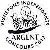 Médaille d'argent Concours des Vignerons Indépendants