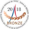 1 médaille de bronze à l'académie des vins et de la Gastronomie Française (AVGF) en 2018