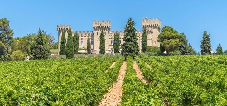 Visite privée du terroir, des vins, de l'appellation et des domaines viticoles avec le Restaurant du Château des Fines Roche à Châteauneuf-du-Pape