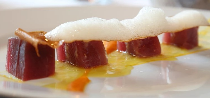 cube-de-thon-gravlax-emultion-citron-kalamansi