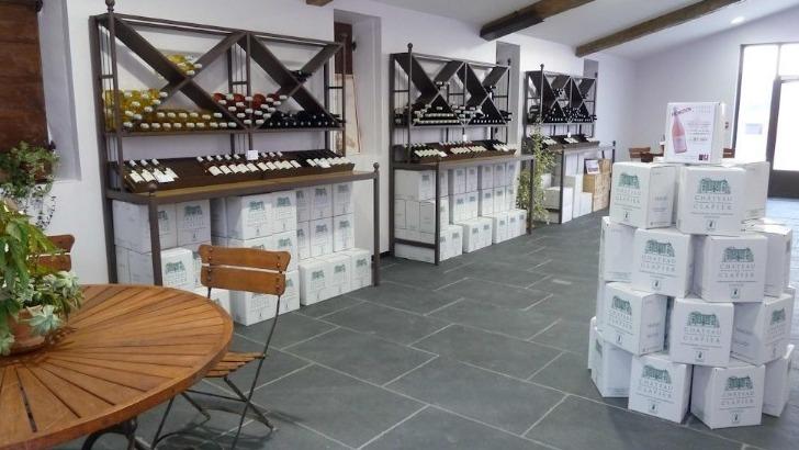 chateau-de-clapier-organise-un-marche-de-noel-autour-du-vin-et-des-produits-de-bouche-tels-chocolat-produits-fumes-champagne-safran-et-huitres