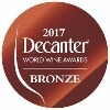 Médaille de bronze Decanter World Wine Awards
