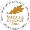 Bronze Concours Général Agricole de Paris