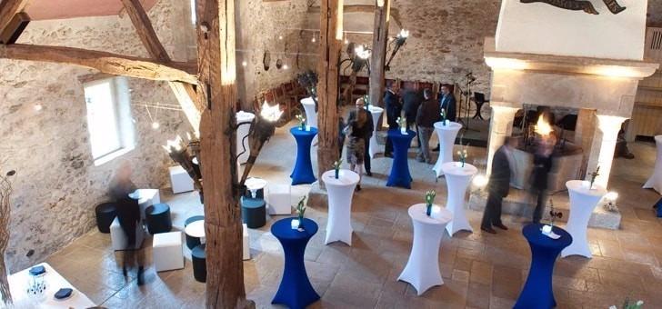 reception-cocktail-debout-au-restaurant-grange-aux-dimes-a-wissous-dans-essonne-pres-de-paris