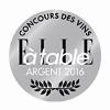Médaille Argent Concours ELLE A TABLE