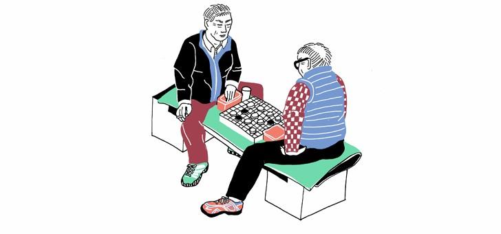 joueurs-de-go-illustration-au-feutre-de-sophie-da