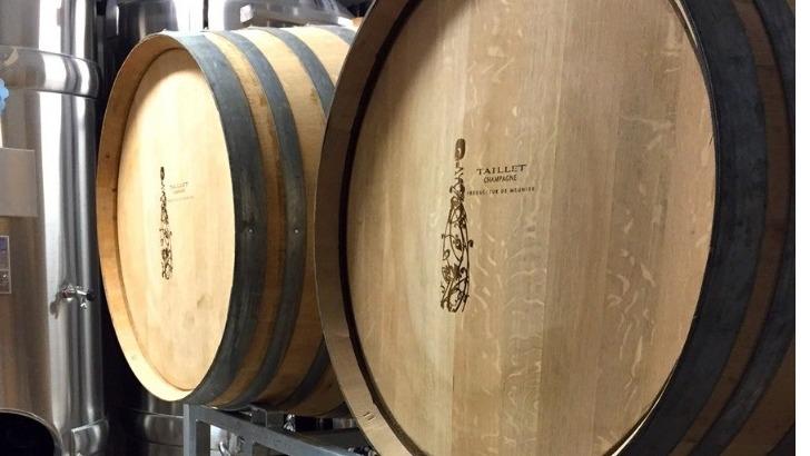 champagne-eric-taillet-a-baslieux-sous-chatillon-vinification-et-elevage-barrique-de-chene