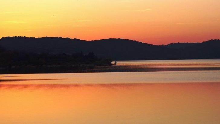 coucher-de-soleil-au-lac-sainte-croix