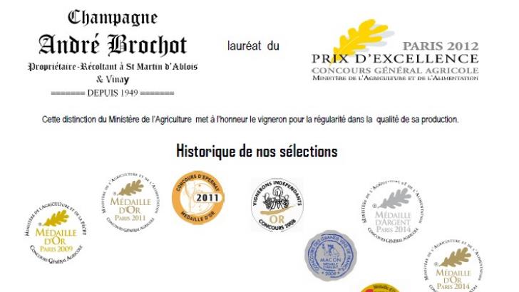 champagne-andre-brochot-laureat-du-prix-d-excellence-au-concours-general-agricole-paris-2012