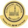 Concours mondial de Bruxelles – Médailles d'Or