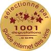 Sélectionnée au concours 1001 dégustations