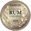 Madrid International Rum Conference – Médaille d'Argent