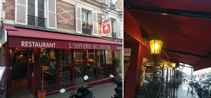 Restaurant l anvers du decor à paris