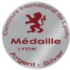 Concours International des vins Lyon : médaille d'argent