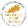 Médaille d'or au concours général agricole