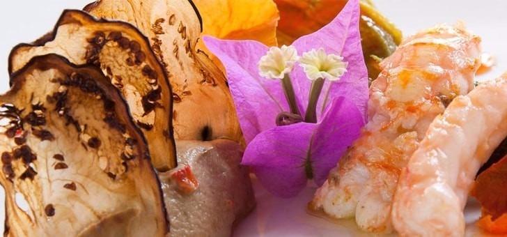 Restaurant du Château des Fines Roches à Châteauneuf-du-Pape, un établissement Maître Restaurateur avec produits frais et de saison spécialités provençales