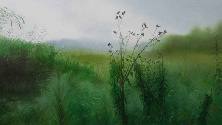 galerie-de-est-apres-pluie-toile-peinte-a-huile-par-evgeniya-buravleva-peintre-russe