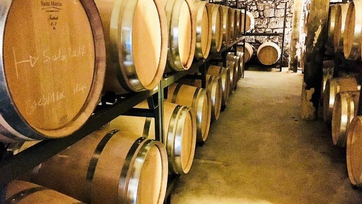 des-barriques-chene-francais-sont-utilisees-pour-elevage-des-vins-gensac