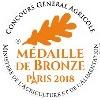 Médaille de bronze Concours Général Agricole