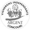 Concours des Vignerons Indépendants Médaille d'Argent