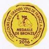 Bronze, concours des vins de France